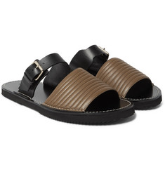 Dries Van Noten - Quilted Leather Slides
