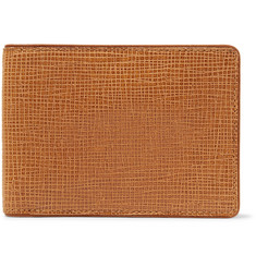 Dries Van Noten Cross-Grain Leather Billfold Wallet