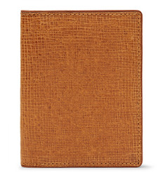 Dries Van Noten Cross-Grain Leather Bifold Cardholder