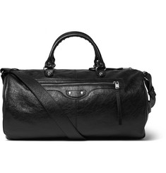 Balenciaga Arena Creased-Leather Duffle Bag