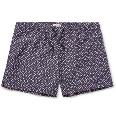 Club Monaco Arlen Slim-Fit Mid-Length Floral-Print Swim Shorts
