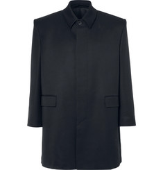 Balenciaga Oversized Wool-Twill Coat