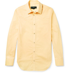 Balenciaga Slim-Fit Cotton-Poplin Western Shirt