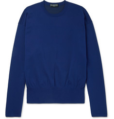 Balenciaga Stretch-Knit Sweater