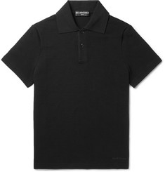Balenciaga Cotton-Piqué Polo Shirt