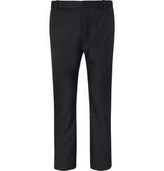 Balenciaga Slim-Fit Cropped Twill Suit Trousers