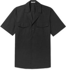 Bottega Veneta Slim-Fit Camp-Collar Cotton-Poplin Shirt