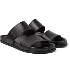 Saint Laurent - Jimmy Double Leather Sandals