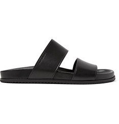 Saint Laurent Jimmy Double Leather Sandals