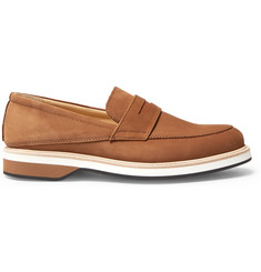 WANT LES ESSENTIELS Marcos Suede Penny Loafers