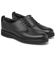 WANT LES ESSENTIELS - Montoro Pebble-Grain Leather Derby Shoes
