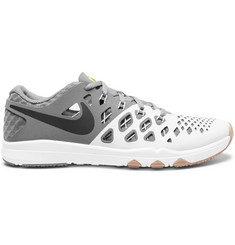 Nike Training Train Speed 4 Mesh and Cutout Rubber Sneakers