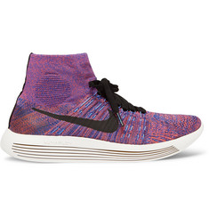 Nike Running - LunarEpic Flyknit High-Top Sneakers