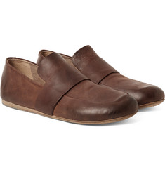 Marsell - Washed-Leather Loafers