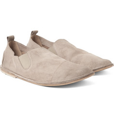 Marsell - Washed-Suede Loafers