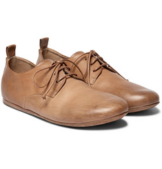 Marsell - Burnished-Leather Derby Shoes
