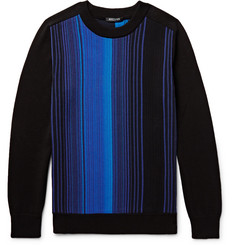 Balmain Striped Cotton Sweater