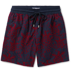 Vilebrequin - Moorea Long-Length Flocked Swim Shorts