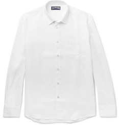 Vilebrequin Slim-Fit Linen Shirt