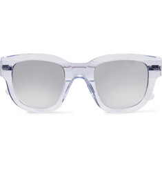 Acne Studios D-Frame Acetate Mirrored Sunglasses