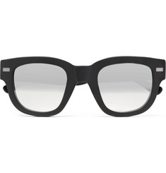 Acne Studios - D-Frame Acetate Mirrored Sunglasses