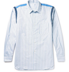 Comme des Garçons SHIRT Slim-Fit Striped Cotton-Poplin Shirt