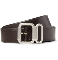 Prada - 3cm Brown Leather Belt