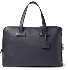 TOM FORD - Grained-Leather Briefcase