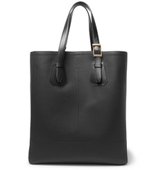 TOM FORD - North West Full-Grain Leather Tote Bag
