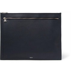 TOM FORD Grained-Leather Pouch