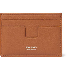 TOM FORD - Grained-Leather Card Holder