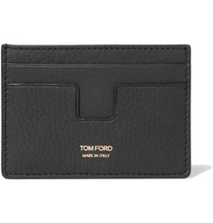 TOM FORD Grained-Leather Cardholder