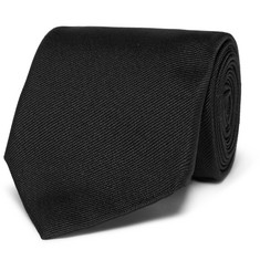 Alexander McQueen 7cm Embroidered Silk-Twill Tie