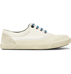 Lanvin Canvas, Rubber and Suede Sneakers