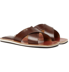 Berluti - Elio Polished-Leather Slides