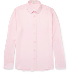 Saint Laurent Slim-Fit Silk Crepe De Chine Shirt