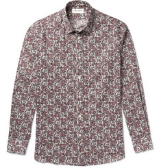Saint Laurent Slim-Fit Paisley-Print Cotton Shirt