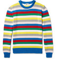 Saint Laurent - Striped Cotton Sweater