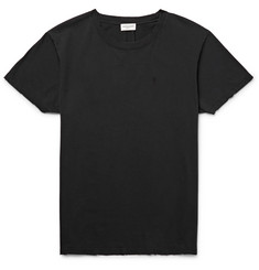 Saint Laurent Slim-Fit Cotton-Jersey T-Shirt