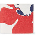 Thom Browne - Printed Pebble-Grain Leather Billfold Wallet