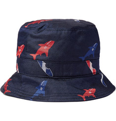 Thom Browne - Silk-Jacquard Bucket Hat