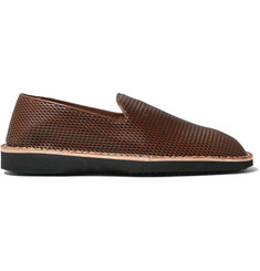 Maison Margiela Embossed Leather Espadrilles