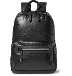 Lanvin - Creased-Leather Backpack