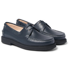 A.P.C. - Leather Boat Shoes