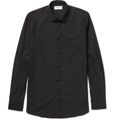 Saint Laurent Slim-Fit Cotton-Poplin Shirt