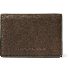 Brunello Cucinelli Leather Bifold Cardholder