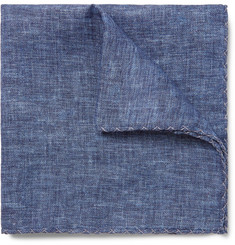 Brunello Cucinelli Linen Pocket Square
