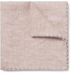 Brunello Cucinelli - Linen Pocket Square