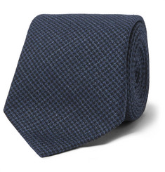 Brunello Cucinelli 7cm Linen, Wool And Silk-Blend Tie