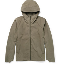 Arc'teryx Veilance Isogon Waterproof Cotton-Blend Hooded Jacket